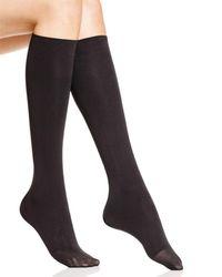 Hue - Bandless Knee-high Socks - Lyst