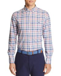 Vineyard Vines - Duke's County Plaid Slim Fit Button-down Shirt - Lyst
