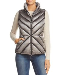 Marc New York - Performance Chevron Puffer Vest - Lyst
