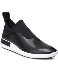 Via Spiga - Women's Munro Leather & Neoprene Slip-on Trainers - Lyst