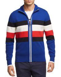 Tommy Hilfiger - Striped Zip Sweater - Lyst