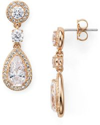 Nadri - Marquis & Pear Shaped Drop Earrings - Lyst