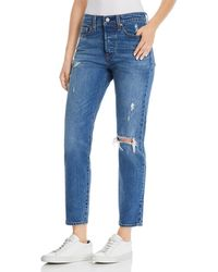 Levi's - Wedgie Icon Fit Straight Jeans In Higher Love - Lyst