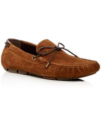 Kenneth Cole - Men's Engle Suede Moc Toe Drivers - Lyst
