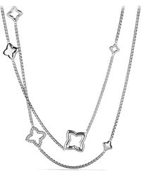 David Yurman - Quatrefoil Chain Necklace - Lyst