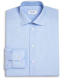 Eton of Sweden - Of Sweden Basic Regular Fit Glen Plaid Dress Shirt - Lyst