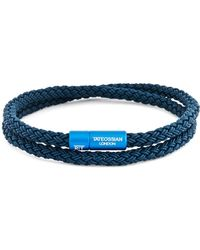 Tateossian | Rubber Cable Bracelet | Lyst