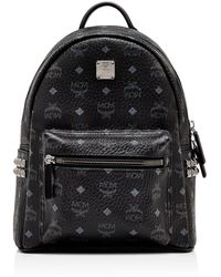 MCM - Stark Side Stud Small Backpack - Lyst