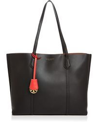 Tory Burch - Perry Leather Tote - Lyst
