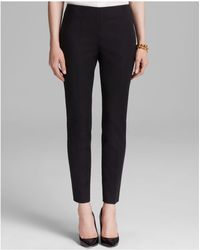 Vince Camuto - Side Zip Ankle Trousers - Lyst