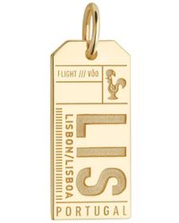 Jet Set Candy | Lis Lisbon Luggage Tag Charm | Lyst