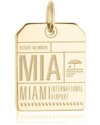 Jet Set Candy - Mia Miami Luggage Tag Charm - Lyst
