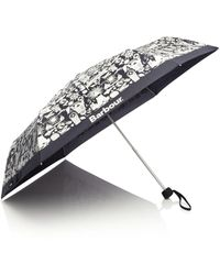 Barbour - Sea Side Print Umbrella - Lyst