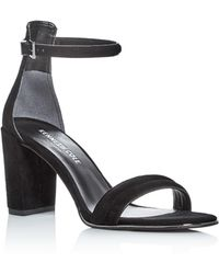 Kenneth Cole - Lex Ankle Strap Block Heel Sandals - Lyst
