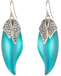 Alexis Bittar - Love Bird Capped Feather Earrings - Lyst