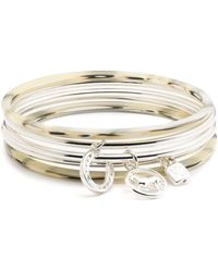 Ralph Lauren - Lauren Charm Bangle Bracelets - Lyst