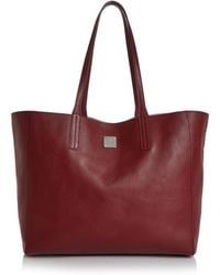 MCM - Wandel Medium Reversible Leather Shopper - Lyst