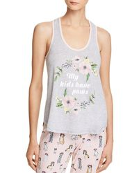 Pj Salvage - My Kids Have Paws Tank - Lyst