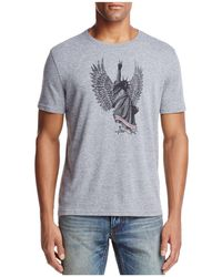 John Varvatos | Liberty Wings Graphic Crewneck Short Sleeve Tee | Lyst