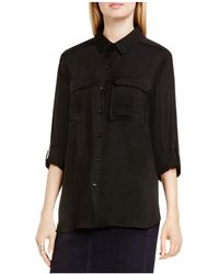 Vince Camuto - Two By Vince Camtuo Roll Sleeve Utility Shirt - Lyst