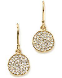 Ippolita - 18k Gold Stardust Flower Earrings With Diamonds - Lyst