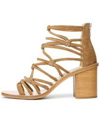 Rag & Bone - Women's Camille Suede High-heel Sandals - Lyst
