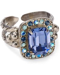 Sorrelli - Opulent Octagon Statement Ring - Lyst