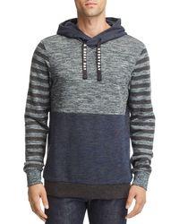Scotch & Soda - Color-block Hooded Sweatshirt - Lyst