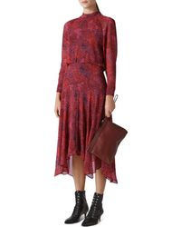 Whistles - Abstract Animal Carlotta Dress - Lyst
