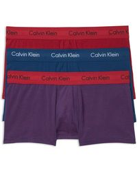 CALVIN KLEIN 205W39NYC - Stretch Cotton Low Rise Trunks - Pack Of 3 - Lyst