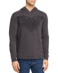 John Varvatos X Game Of Thrones Three - Eyed Raven Hooded Sweatshirt