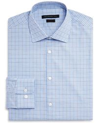John Varvatos - Check Regular Fit Dress Shirt - Lyst