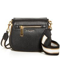 Marc Jacobs Small Nomad Leather Crossbody - Black