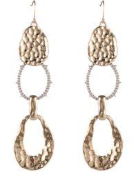 Alexis Bittar - Linear Link Drop Earrings - Lyst