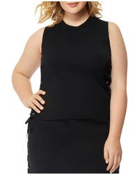 REBEL WILSON X ANGELS - Side Lace-up Top - Lyst