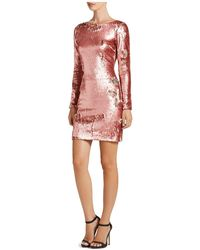 Dress the Population - Lola Sequin Dress - Lyst