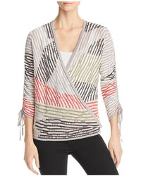 NIC+ZOE - Nic+zoe Multi-color Four-way Cardigan - Lyst