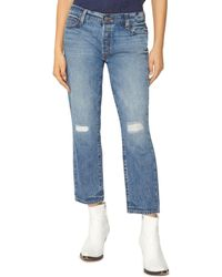 Sanctuary - Disrupt Rip & Repair Crop Jeans In Flat Iron - Lyst