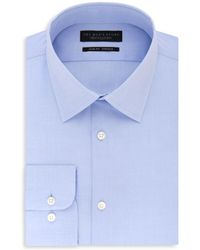 Bloomingdale's - Solid Stretch Slim Fit Dress Shirt - Lyst