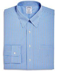 Brooks Brothers - Gingham Regent Fit Dress Shirt - Lyst