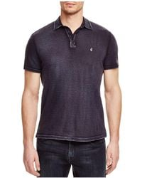 John Varvatos | Peace Slim Fit Polo Shirt | Lyst