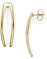 Robert Lee Morris - Wishbone Earrings - Lyst