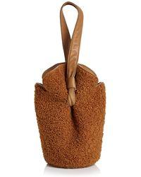 Elizabeth and James - French Fry Teddy Small Bucket Bag - Lyst