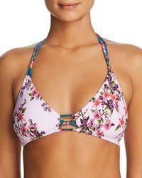 Nanette Lepore - Victorian Enchantress Bralette Bikini Top - Lyst
