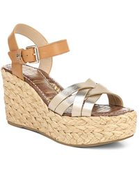 Sam Edelman - Darline Wedge Sandals - Lyst