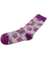 Ted Baker | Tincann Leaf Socks | Lyst