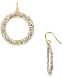 Officina Bernardi - Beaded Loop Drop Earrings - Lyst