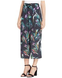 Catherine Malandrino | Carver Abstract Floral Crop Pants | Lyst