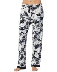 Donna Karan - Printed Pj Trousers - Lyst