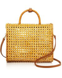 Serpui | Suzy Wicker Bowling Bag Satchel | Lyst